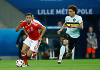 Hal Robson-Kanu (Wales) and Alex Witsel (Belgium)<br /> Lille 01-07-2016 Stade Pierre Mauroy Football Euro2016 Wales - Belgium / Galles - Belgio <br /> Quarter-finals. Foto Matteo Ciambelli / Insidefoto