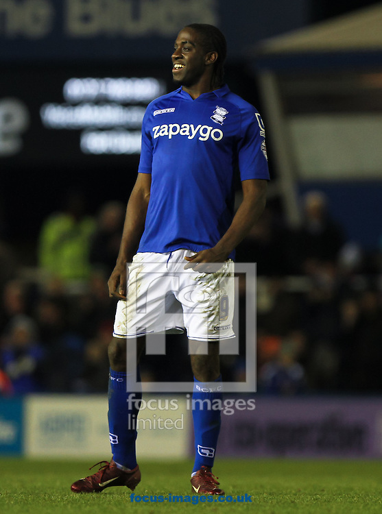 Clayton Donaldson of Birmingham City during the Sky Bet Championship match at St Andrews, Birmingham<br /> Picture by Tom Smith/Focus Images Ltd 07545141164<br /> 13/12/2014