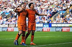 Diogo Jota of Wolverhampton Wanderers celebrates after scoring his sides third goal  - Mandatory by-line: Matt McNulty/JMP - 21/04/2018 - FOOTBALL - Macron Stadium - Bolton, England - Bolton Wanderers v Wolverhampton Wanderers - Sky Bet Championship