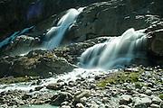 Wasserfälle unter Gauligletscher