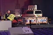 Koning Willem Alexander opent Joint Inspection Center op Schiphol. Het Joint Inspection Center heeft tot doel om een veiligere en effici&euml;ntere vrachtafhandeling op Schiphol mogelijk te maken door verschillende handhavers en inspectiediensten samen te laten werken aan controles van luchtvracht.<br /> <br /> King Alexander opens Joint Inspection Centre at Schiphol. The Joint Inspection Center aims to enable a safer and more efficient cargo handling at the airport by different enforcement and inspection services to collaborate on inspections of air cargo.<br /> <br /> Op de foto / On the photo:  Joint Inspection Centre at Schiphol