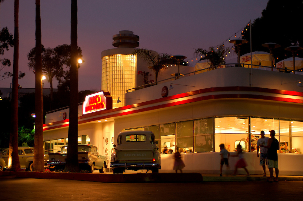 Ruby's Diner, Laguna Beach, California, United States of America