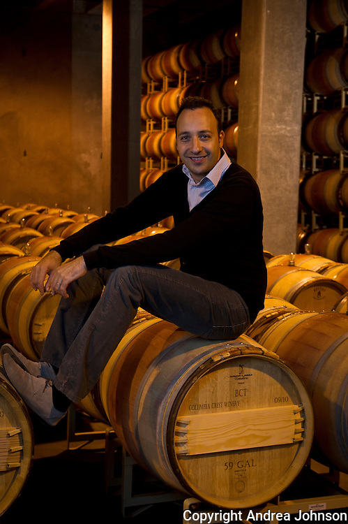 Juan Muñoz Oca, head winemaker, Columbia Crest Winery, Horse Heaven Hills, Washington