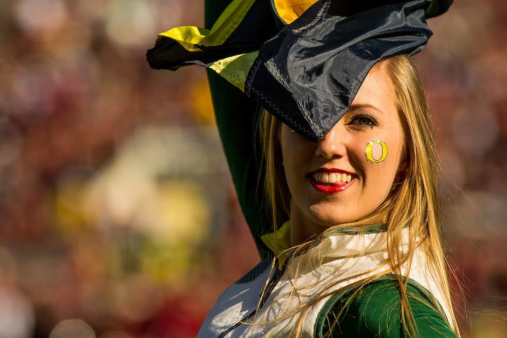 Photographed at the 2015 Rose Bowl Game in Pasadena, California, on January 1, 2015. (Photograph ©2015 Darren Carroll)