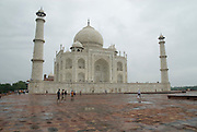 India, Uttar Pradesh, Agra, The Taj Mahal landmark