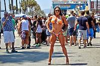 Lisa Marino Sanders at Venice Beach CA