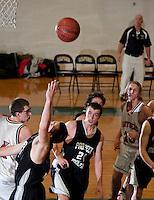 Holiday Basketball Tournament Prospect Mountain versus Moultonborough Academy December 27, 2011.