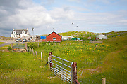 Community gardening project at Northbay, Isle of Barra, Outer Hebrides, Scotland, UK
