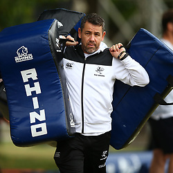 DURBAN, SOUTH AFRICA - MAY 15: John Hooper (Masseur) of the Cell C Sharks during the Cell C Sharks training session at Jonsson Kings Park on May 15, 2018 in Durban, South Africa. (Photo by Steve Haag/Gallo Images)
