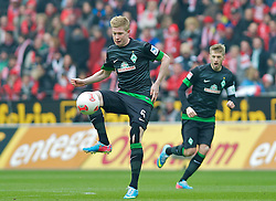 30.03.2013, Coface Arena, Mainz, GER, 1. FBL, 1. FSV Mainz 05 vs SV Werder Bremen, 27. Runde, im Bild Kevin de Bruyne (Bremen #6) bei der Ballannahme // during the German Bundesliga 27th round match between 1. FSV Mainz 05 and SV Werder Bremen at the Coface Arena, Mainz, Germany on 2013/03/30. EXPA Pictures © 2013, PhotoCredit: EXPA/ Andreas Gumz ***** ATTENTION - OUT OF GER *****
