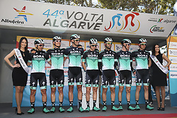 February 14, 2018 - Lagos, Portugal - Bora-Hansgrohe before the 1st stage of the cycling Tour of Algarve between Albufeira and Lagos, on February 14, 2018. (Credit Image: © Str/NurPhoto via ZUMA Press)