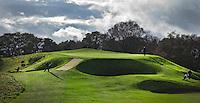GLENEAGLES SCHOTLAND - King's Course , Golfbaan van Gleneagles. Er zijn drie bannen van Gleneagles. De Queen's Corse, King's  Corse en de belangrijkste is de PGA Centenary Course. Op de PGA course wordt in 2014 de Ryder Cup gespeeld. Het Gleneagles Hotel heeft 5 sterren en het restaurant van Andrew Fairlie met 2 Michelin sterren. FOTO KOEN SUYK