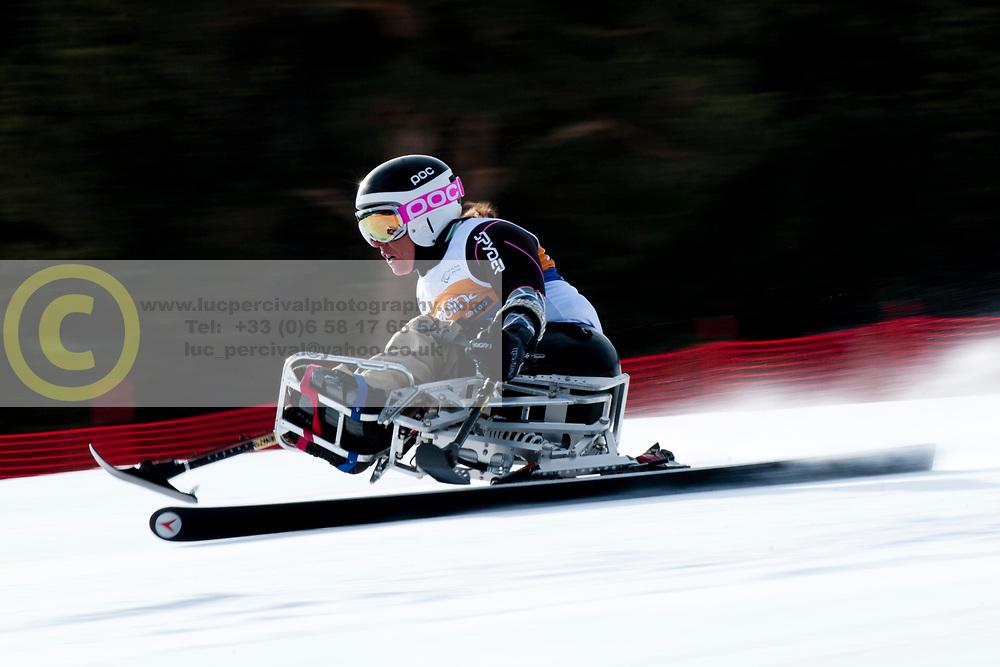 , USA, Super Combined, 2013 IPC Alpine Skiing World Championships, La Molina, Spain
