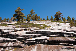 California: Granite layers in the Yosemite high country.  Photo copyright Lee Foster california120857.