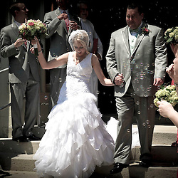 The wedding of Cynthia Grassbaugh and Keith Strahler