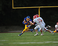 Oxford High's Ethan Holmes (12) vs. Jackson Prep in Oxford, Miss. on Friday, August 23, 2013. Oxford won 32-20.