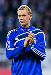 10.09.2010, Rhein-Neckar-Arena, Sinsheim, GER, 1. FBL, TSG Hoffenheim vs Schalke 04, im Bild Manuel Neuer (Schalke #1), Hochformat / Upright Format, Freisteller, EXPA Pictures © 2010, PhotoCredit: EXPA/ nph/  Roth+++++ ATTENTION - OUT OF GER +++++