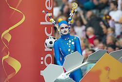 26.06.2011, Olympiastadion Berlin, Berlin, GER, FIFA Women's Worldcup 2011, Gruppe A,  Deutschland (GER) vs. Canada (CAN), im Bild ERoeffnungsfeier  // during the FIFA Women's Worldcup 2011, Pool A, Germany vs Canada on 2011/06/26, Olympiastadion, Berlin, Germany.   EXPA Pictures © 2011, PhotoCredit: EXPA/ nph/  Kokenge       ****** out of GER / SWE / CRO  / BEL ******