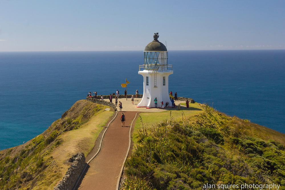 cape reinga lighthouse, northland new zealand