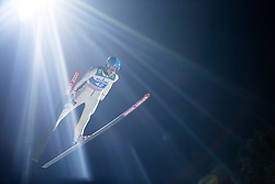 06.01.2015, Paul Ausserleitner Schanze, Bischofshofen, AUT, FIS Ski Sprung Weltcup, 63. Vierschanzentournee, Finale, im Bild Ilmir Hazetdinov (RUS) // Ilmir Hazetdinov of Russia during Final Jump of 63rd Four Hills <br /> Tournament of FIS Ski Jumping World Cup at the Paul Ausserleitner Schanze, Bischofshofen, Austria on 2015/01/06. EXPA Pictures &copy; 2015, PhotoCredit: EXPA/ JFK