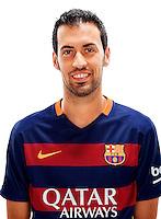 Spain - Liga BBVA 2015-2016 / <br /> ( Fc Barcelona ) - <br /> Sergio Busquets