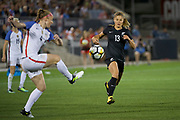 Rosie White.<br /> Commerce City, Colorado - Friday September 15, 2017:  The USWNT takes on the New Zealand Women's National Football Team at Dick's Sporting Goods Park. Copyright photo: Jamie Schwaberow / ISI / www.photosport.nz