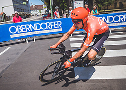 06.07.2019, Wels, AUT, Ö-Tour, Österreich Radrundfahrt, Prolog, Einzelzeitfahren (2,5 km), im Bild Victor de la Parte (ESP, CCC Team) // Victor de la Parte of Spain (CCC Team) during the prolog, Individual time trial (2,5 Km) of the 2019 Tour of Austria. Wels, Austria on 2019/07/06. EXPA Pictures © 2019, PhotoCredit: EXPA/ Reinhard Eisenbauer
