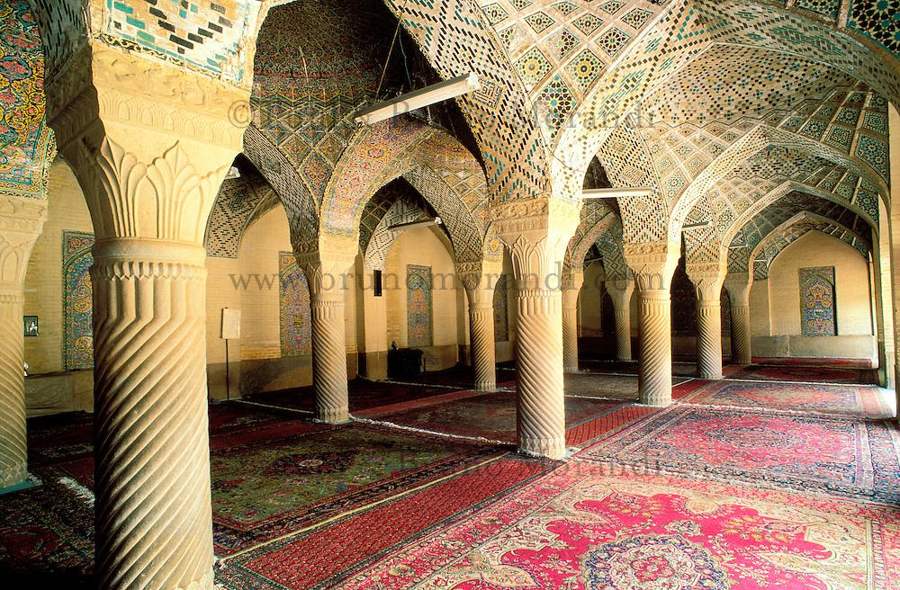 Iran -  Shiraz - Mosquée  Nazir al Molk