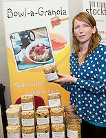 27/01/2014 Bowl-a-Granola owner  Siobhan Joyce who won a SCCUL Enterprise Award Agriculture &amp; Food<br /> One to Watch award<br />  <br /> Bowl &ndash; a- granola is a Galway food company established in 2012. The company specialises in home made granola made with Irish Organic oats.<br /> Having started in famers markets Bowl- a- granola is now available in 14 independent shops in Galway and Clare. In 2013 Bowl- a- granola was awarded silver at the Blas na hEireann Irish Food Awards.<br />  . Photo:Andrew Downes