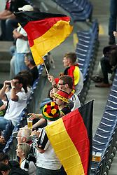 30.06.2011, Commerzbank Arena, Frankfurt, GER, FIFA Women Worldcup 2011, Gruppe A, Deutschland (GER) vs. Nigeria (NGA), im Bild:  Deutsche Fans..// during the FIFA Women Worldcup 2011, Pool A, Germany vs Nigeria on 2011/06/30, Commerzbank Arena, Frankfurt, Germany.  EXPA Pictures © 2011, PhotoCredit: EXPA/ nph/  Mueller *** Local Caption ***       ****** out of GER / CRO  / BEL ******