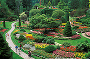 Butchart Gardens, Vancouver Island, British Columbia, Canada.