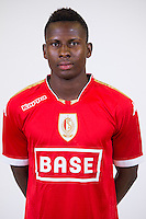 Standard's Alassane Diallo pictured during the 2015-2016 season photo shoot of Belgian first league soccer team Standard de Liege, Monday 13 July 2015 in Liege.