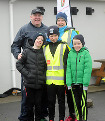 Chris McGowan and family enjoying the Operation Transformation walk hosted by Westport GAA club on saturday last.<br /> Pic Conor McKeown