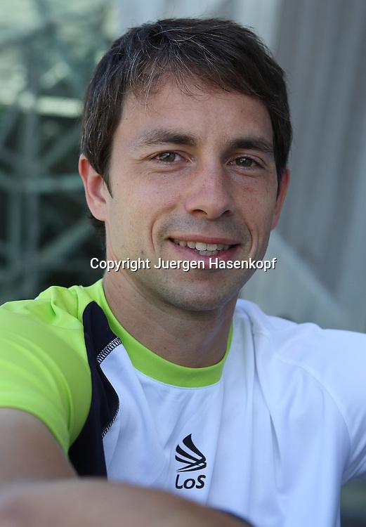 Davis Cup Debutant Tennis Profi Simon Greul.
