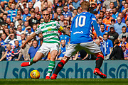 Celtic Captain Scott Brown during the Ladbrokes Scottish Premiership match between Rangers and Celtic at Ibrox, Glasgow, Scotland on 12 May 2019.