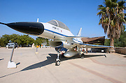 Israel, Hazirim, near Beer Sheva, Israeli Air Force museum. The national centre for Israel's aviation heritage. Israel Aircraft Industry Lavi B-2, Designed and built in Israel, only 3 aircrafts were produced before the project was closed due to financial considirations in 1987