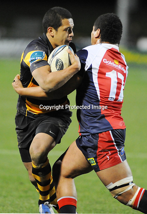 Taranaki`s Willie Ripia in action during their Air NZ Cup Rugby Union Match. Tasman v Taranaki. Lansdowne  Park, Blenheim, New Zealand. Thursday 30 July 2009. Photo: Chris Symes/PHOTOSPORT