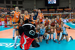 15-10-2018 JPN: World Championship Volleyball Women day 16, Nagoya<br /> Netherlands - USA 3-2 / Team Netherlands