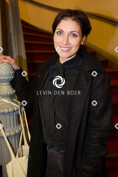 LEIDEN - Rick Engelkes Producties presenteerde in de Leidse Schouwburg de première van De Verleiding van een Moordvrouw. Met hier op de foto  Vivienne van den Assem. FOTO LEVIN DEN BOER - PERSFOTO.NU