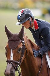Leprevost Penelope, (FRA), Flora de Mariposa<br /> Team completion and 2nd individual qualifier<br /> FEI European Championships - Aachen 2015<br /> © Hippo Foto - Dirk Caremans<br /> 20/08/15