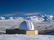 The University of Canterbury's Mount John Astronomical Observatory near Lake Tekapo, New Zealand.