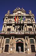 Casa Consistorial, Pamplona, Navarro, Spain.