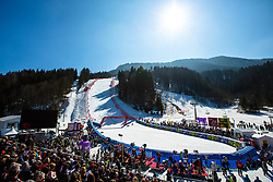 View on the course during the 2nd Run of Men's Giant Slalom - Pokal Vitranc 2014 of FIS Alpine Ski World Cup 2013/2014, on March 8, 2014 in Vitranc, Kranjska Gora, Slovenia. Photo by Matic Klansek Velej / Sportida