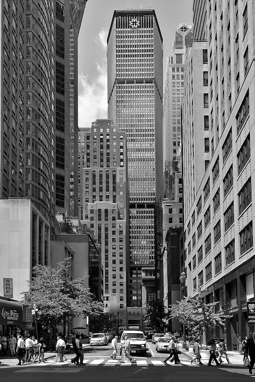 East 44th Street with Met Life Building,New York, Manhattan, USA