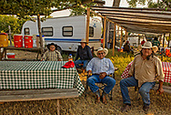 Brothers, Jim Real Bird, Richard Real Bird, Henry Real Bird, son John Real Bird, Jim Real Bird camp, Crow Fair, Montana