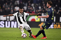 March 8, 2019 - Torino, Torino, Italia - Foto LaPresse - Marco Alpozzi.8 Marzo 2019 Torino, Italia .Sport.Calcio.Juventus Vs Udinese - Campionato di calcio Serie A TIM 2018/2019 - Allianz Stadium..Nella foto: Alex Sandro (Juventus F.C.); Rodrigo de Paul...Photo LaPresse - Marco Alpozzi.March 08, 2019 Turin, Italy.sport.soccer.Juventus Vs Udinese- Italian Football Championship League A TIM 2018/2019 - Allianz Stadium.In the pic: Alex Sandro (Juventus F.C.); Rodrigo de Pa (Credit Image: © Marco Alpozzi/Lapresse via ZUMA Press)