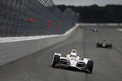 August 19, 2018 - Long Pond, Pennsylvania, United Stated - SIMON PAGENAUD (22) of France battles for position during the ABC Supply 500 at Pocono Raceway in Long Pond, Pennsylvania. (Credit Image: © Justin R. Noe Asp Inc/ASP via ZUMA Wire)