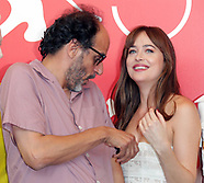 Luca Peeks At Dakota Johnson's Breasts