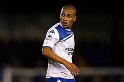 James Vaughan of Bury - Mandatory by-line: Robbie Stephenson/JMP - 24/10/2016 - FOOTBALL - Gigg Lane - Bury, England - Bury v Bolton Wanderers - Sky Bet League One