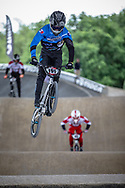 #191 (FLOCH Calvin) FRA at Round 5 of the 2019 UCI BMX Supercross World Cup in Saint-Quentin-En-Yvelines, France